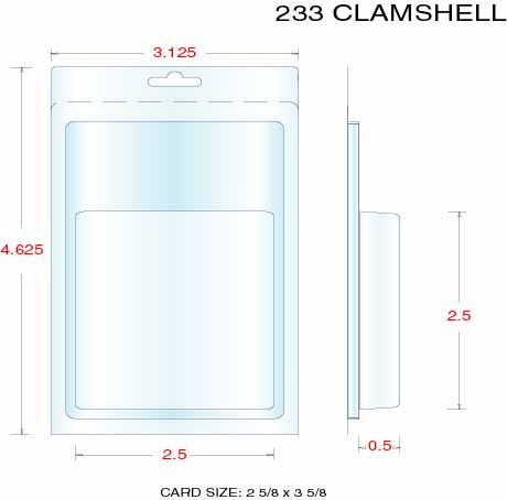 Clamshell Packaging Stock Stock Clamshell Packaging 233