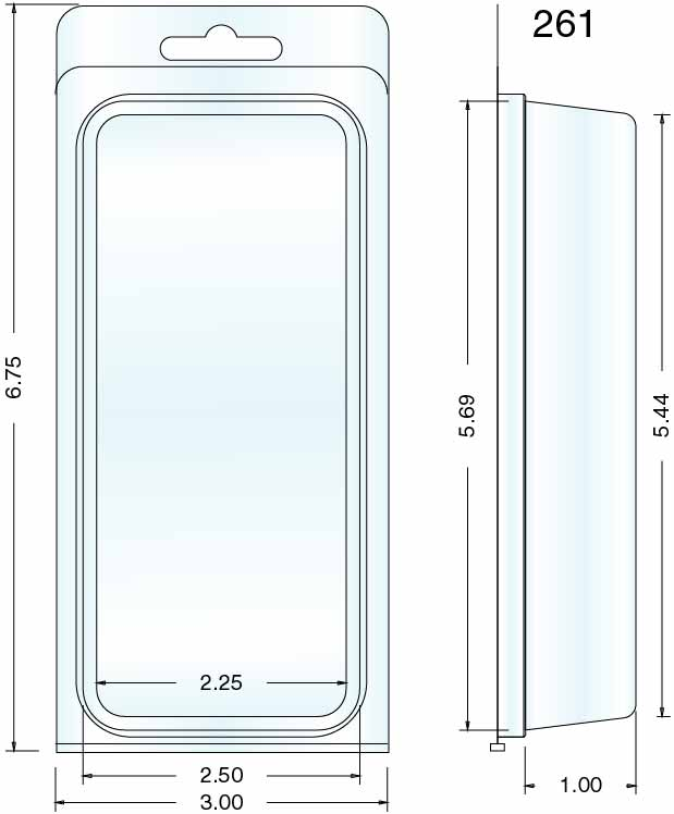 Clamshell Packaging Stock Stock Clamshell Packaging 261
