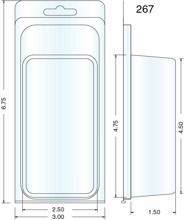 Clamshell Packaging Stock Stock Clamshell Packaging 267