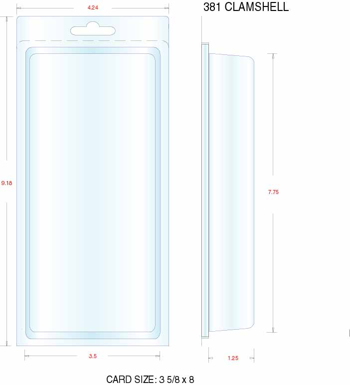 Clamshell Packaging Stock Stock Clamshell Packaging 381