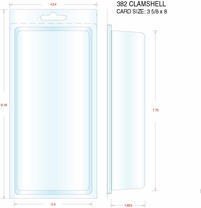 Clamshell Packaging Stock Stock Clamshell Packaging 382