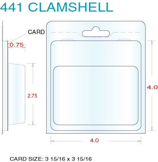 Clamshell Packaging Stock Stock Clamshell Packaging 441