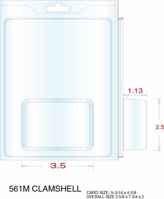 Clamshell Packaging Stock Stock Clamshell Packaging