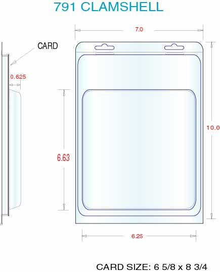 Clamshell Packaging Stock Stock Clamshell Packaging 791