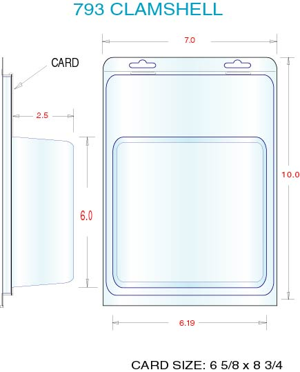 Clamshell Packaging Stock Stock Clamshell Packaging 793